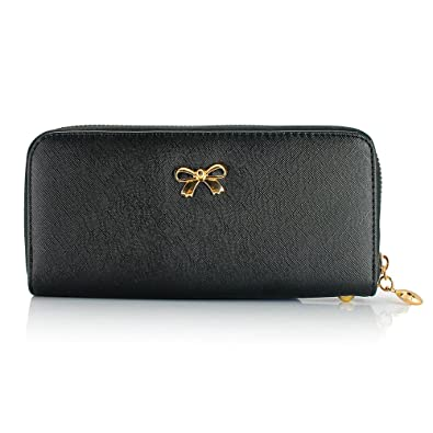 Amazon.com: GEARONIC TM cartera monedero para mujer bolsa de ...