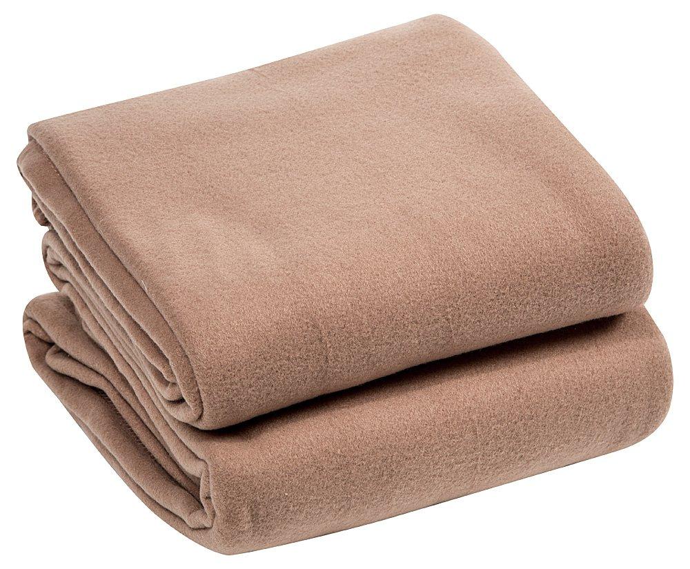 ROYAL LUXURY Micro Plush FULL Blanket, CAMEL