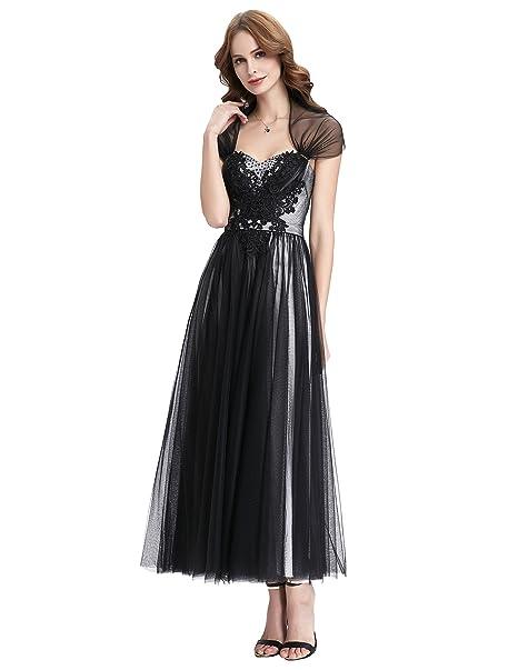 8adf1915a Vestido Fiesta talla 34 36 38 40 42 44 46 48 50  Amazon.es