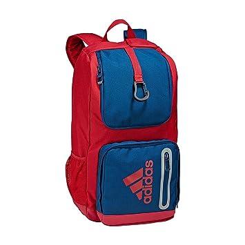 Mochila de hockey sobre césped de la marca Adidas Hockey mochila (color rojo azul): Amazon.es: Deportes y aire libre