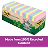Post-it‎ Greener Notes Helsinki Collection 76x76mm 654R-24CP-AP (Pack of 24)