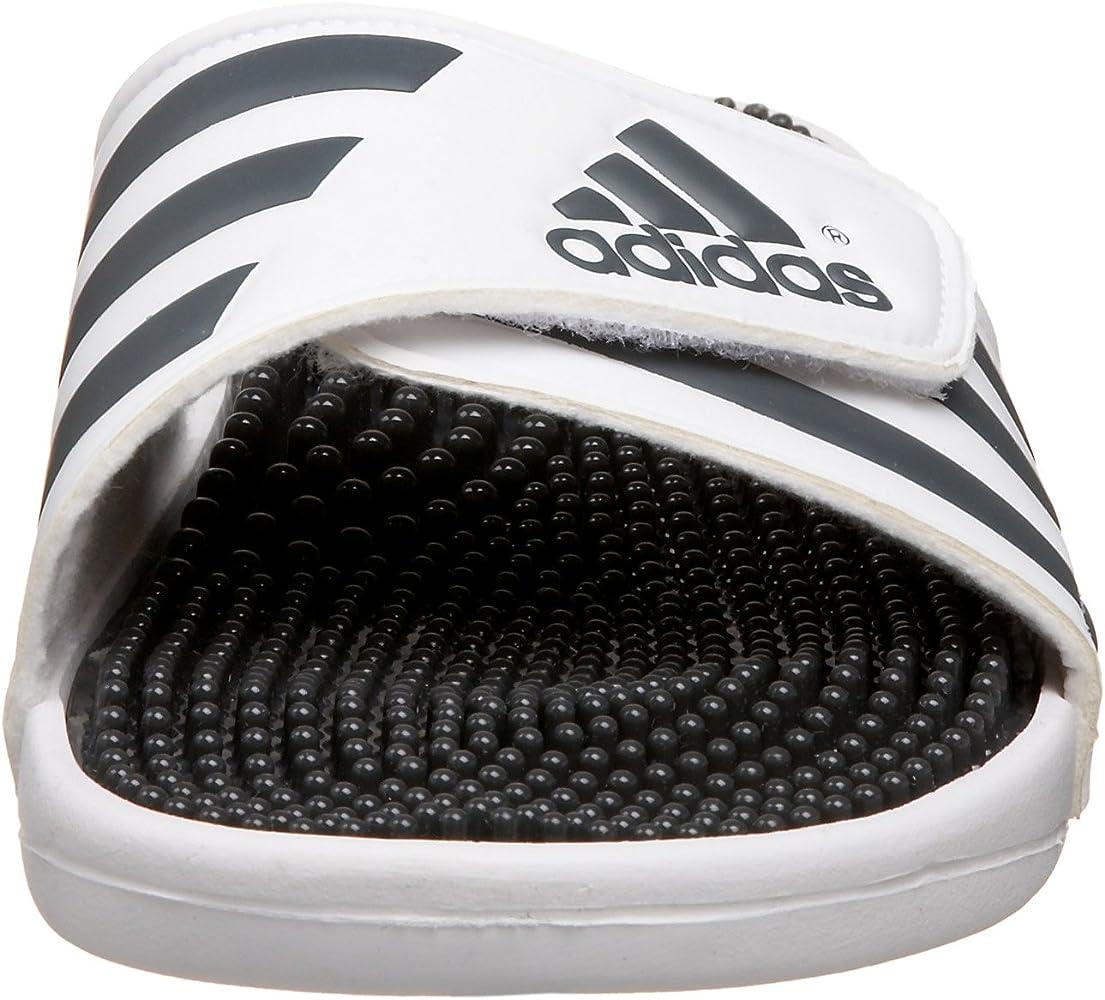 adidas Originals Men's Adissage Sandal, Run WhiteGraphite