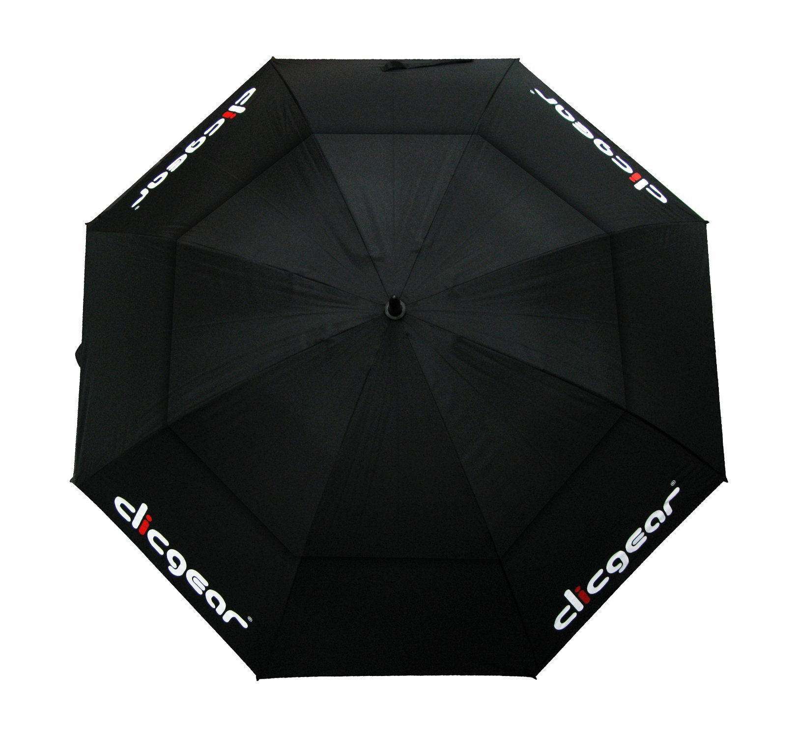 Clicgear Double Canopy 68'' Umbrella (Black)