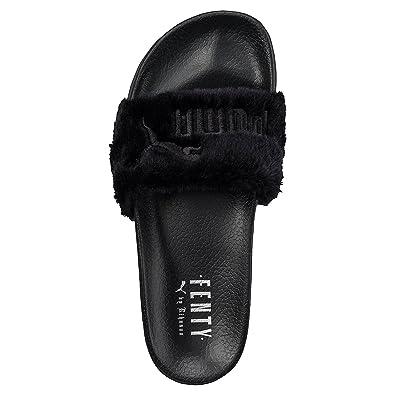 cf93e45a525b6e top quality puma popcat slides womens a31fb 75d7f  discount pumas rihanna x  leadcat fenty fur sandals womens 6 bm 85fbe c6e59