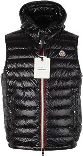 Moncler CL Black Gien Hooded Shell Gilet Vest Size 2/M/48/38R