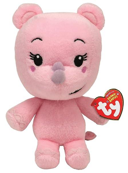 86cbb43dec2 Amazon.com  Ty Beanie Baby - Lulu - Ni Hao Kai Lan - Rhino  Toys   Games