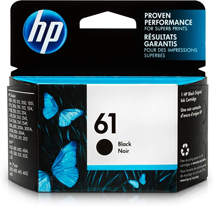 The Best Genuine Hp Black 61