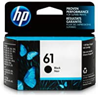 HP 61 Black Original Ink Cartridge For HP ENVY 4500, 4501, 4502, 4504, 4505, 5530, 5531, 5532, 5534, 5535, 5539, HP Officejet 2620, 2621, 4630, 4632, 4635, HP Deskjet 1000, 1010, 1012, 1050, 1051, 1055, 1056, 1510, 1512, 1514, 1051, 2050, 2510, 251…