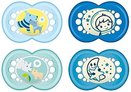 MAM Baby Products 99970111 Día y Noche Chupete - Establecer Boy ...