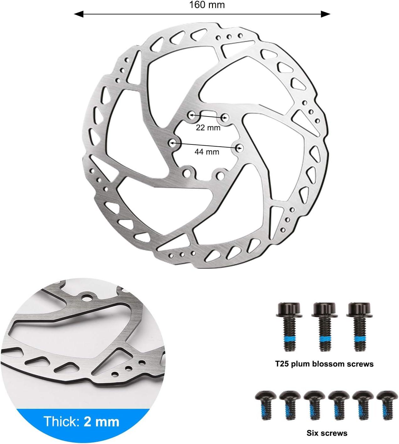 Universal Hydraulic Mechanical Disc Brake for Mountain Bike Folding Bicycle Germerse 2pcs Aluminium Alloy Cycling Disc Brake