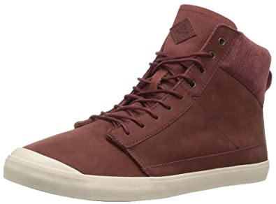 New Reef Womens Walled Hi Brown Fashion Shoes Size 9