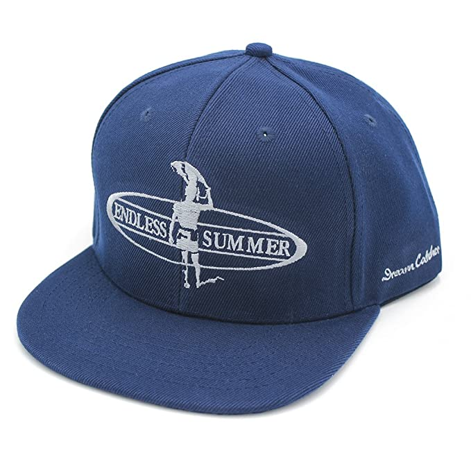 2481c34f28da3 Image Unavailable. Image not available for. Color: Endless Summer Surfer 5  Panel Flat Bill Wool Blend Snap Back Cap