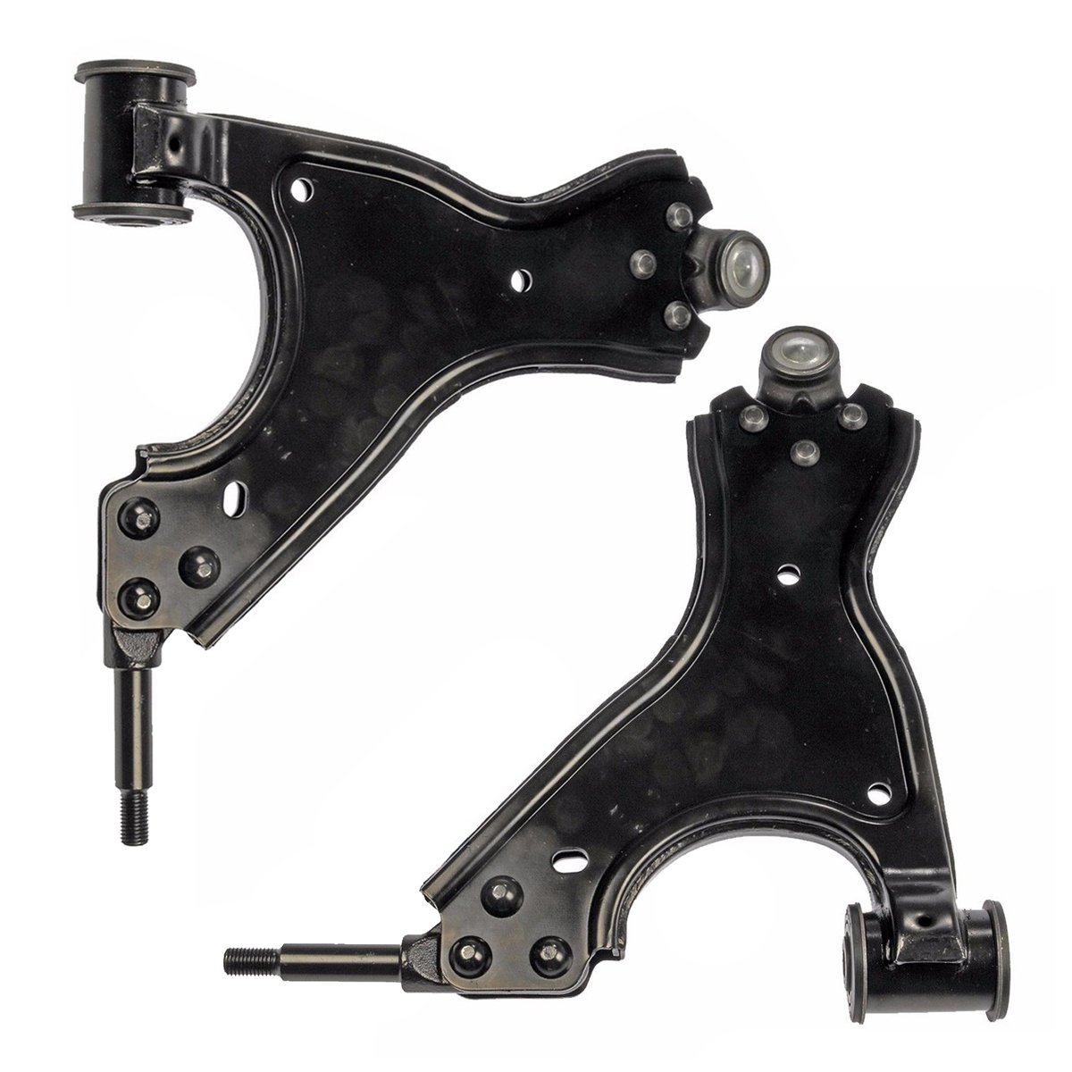 Detroit Axle - Both (2) Front Lower Driver & Passenger Side Control Arm and Ball Joint Assembly - 10-Year Warranty