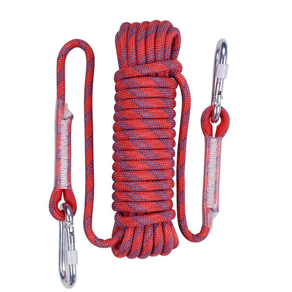Rouge CLIMBING Corde S'élevante Extérieure De Corde De 12mm 10-50m Grimpant La Corde S'élevante Extérieure d'escalade De Corde d'escalade jaune- 12mm 25m 12mm 40m
