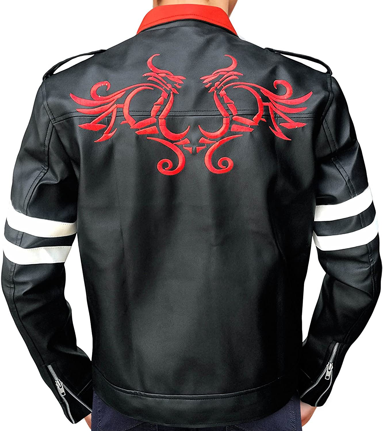 OBX Ranking TOP17 Mens Anex Merser Proto Cheap mail order sales Jacket Red Tattoo Leather