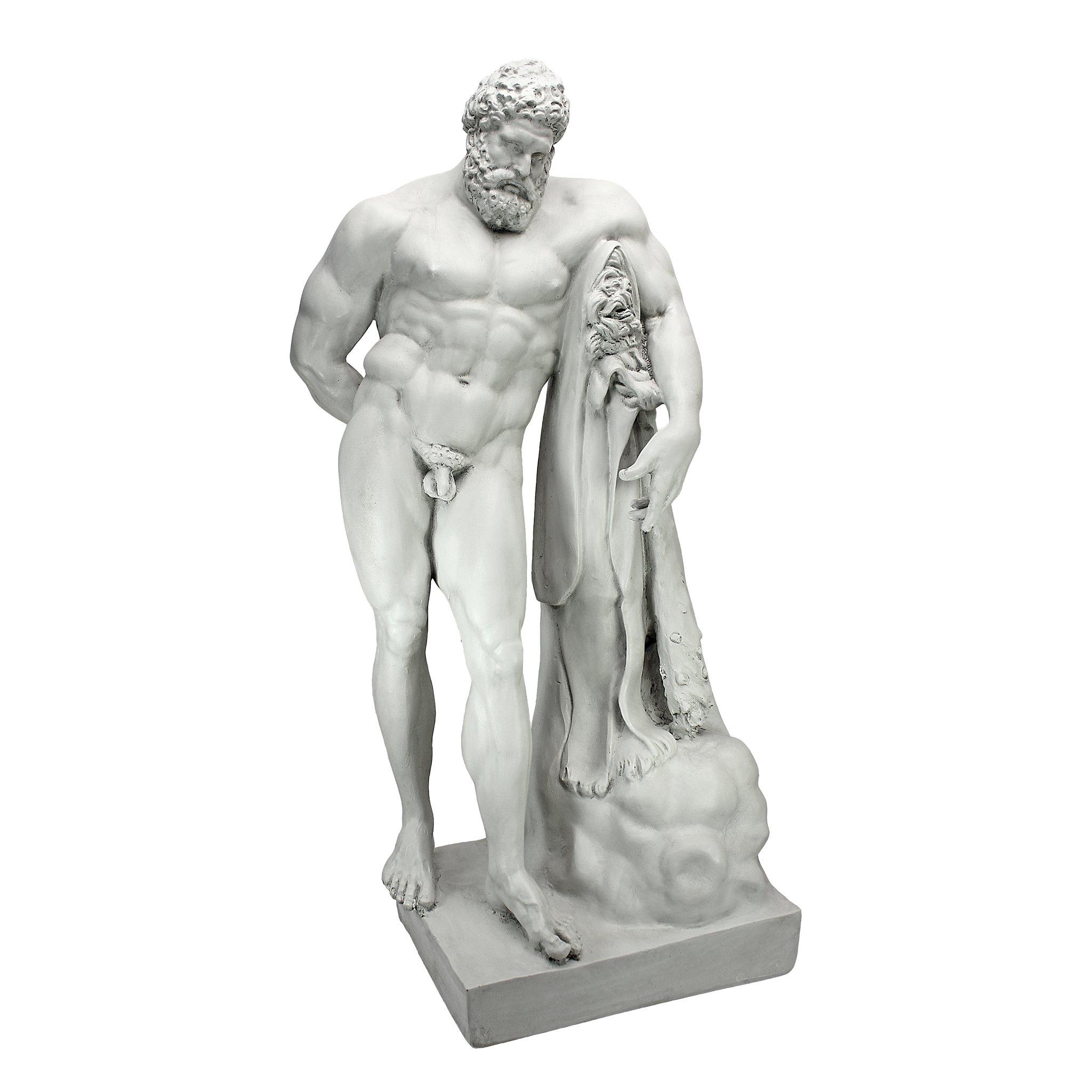 Design Toscano The Farnese Hercules Statue by Design Toscano