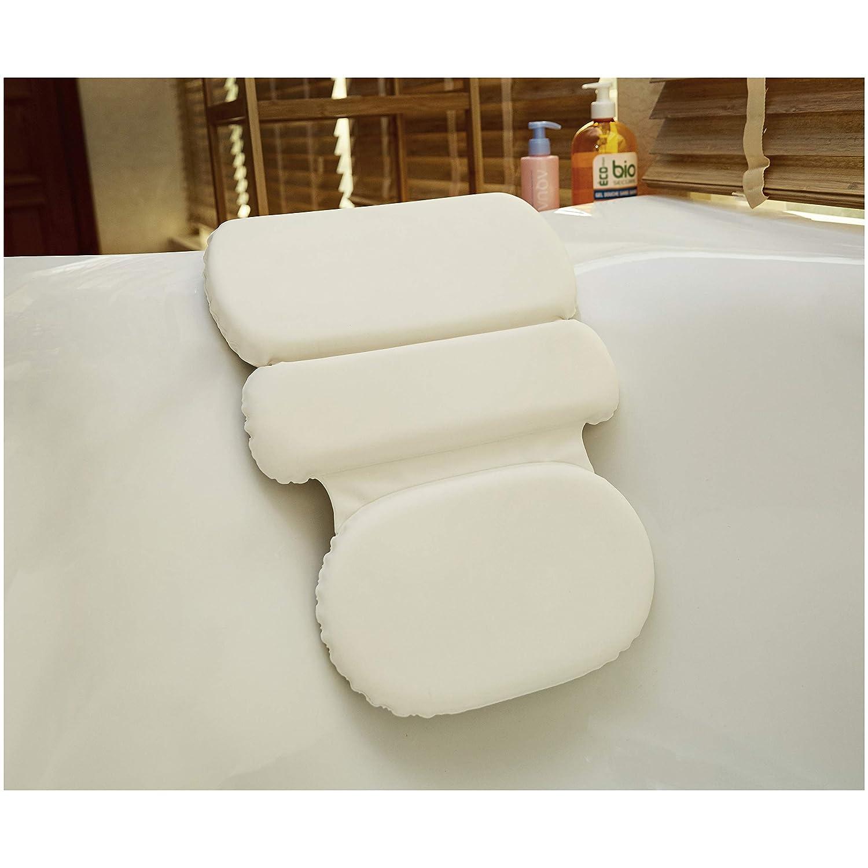 Basics Cuscino cervicale con ventose per vasca da bagno
