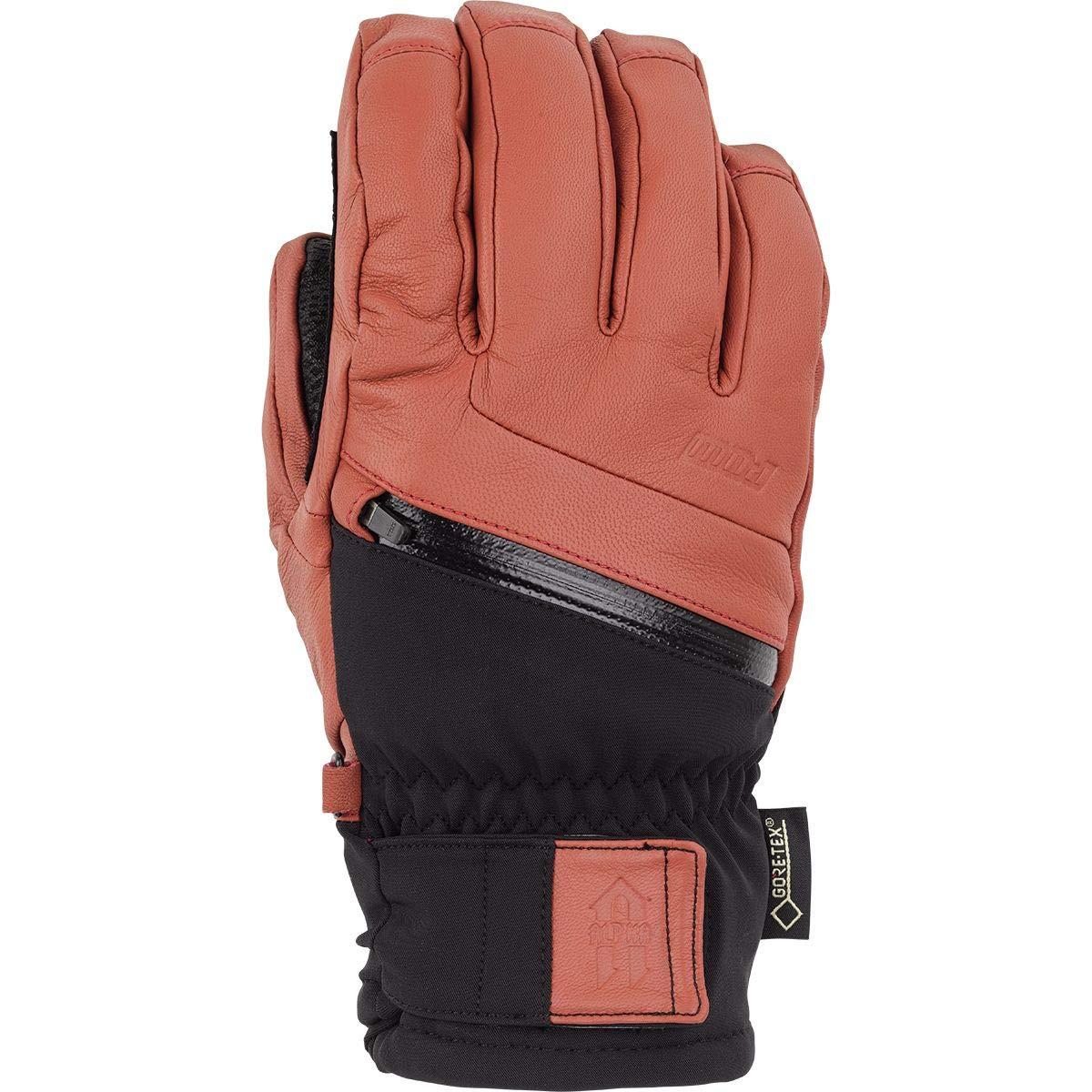 Pow Gloves Alpha GTX Glove - Men's Auburn, S by Pow Gloves