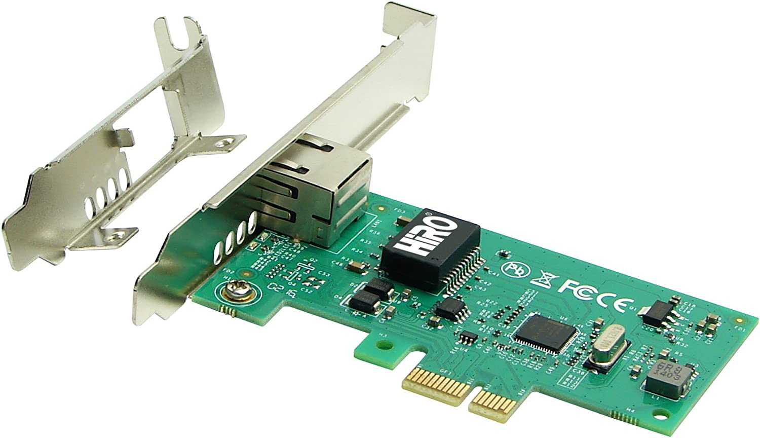 HiRO H50336 Intel 82574L PCIe PCI Express PCI-E x1 Gigabit Ethernet Network Adapter PXE WOL VLAN VMware ESXi Windows 10 plug n play no driver installation needed Windows 8.1 8 7 Compatible