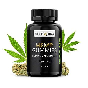 Amazon com: Maximum Strength Hemp Oil Gummies | 1500mg per