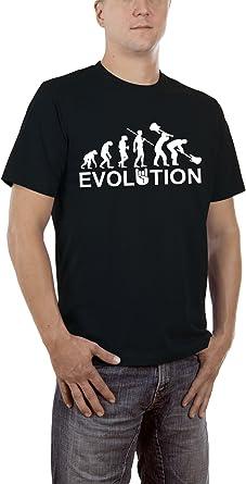 Touchlines Evolution Heavy Metal Rock Camiseta para Hombre: Amazon.es: Ropa y accesorios