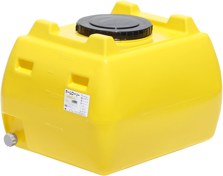 スイコー ホームローリータンク 300L (レモン) B00IIJG3KG 10150 黄 黄