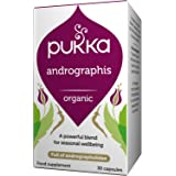 Pukka Herbs - Andrographis, Organic Whole Leaf - Pack of 30 Capsules