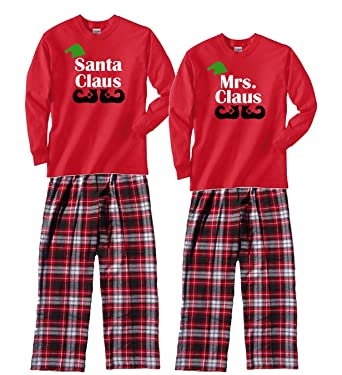 Amazon.com  Footsteps Clothing Family Christmas Pajamas Santa and ... 9d61b59cd