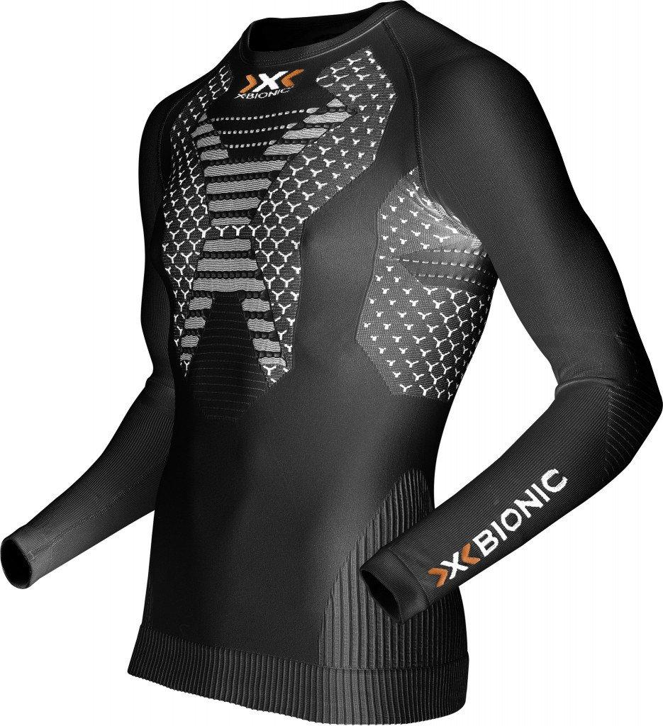 X-Bionic T-shirts Tech Short Sleeve Running Twyce Men Black/white
