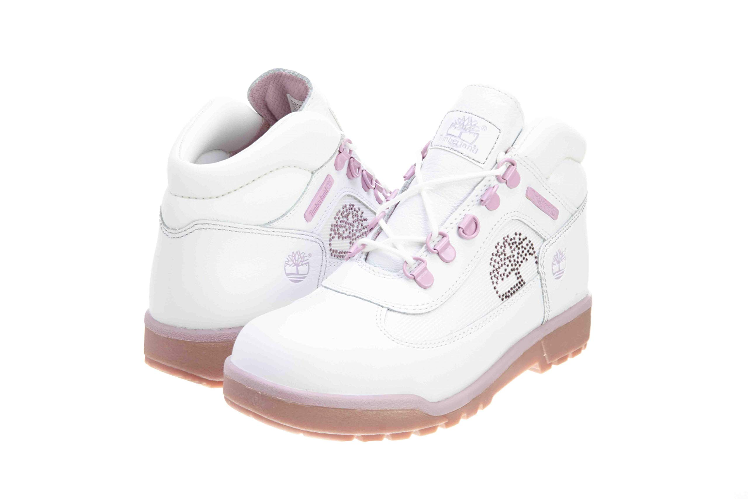 Timberland Field Boots (Gs) Big Kids Style: 25985-LUXWHITE Size: 4.5 by Timberland (Image #1)