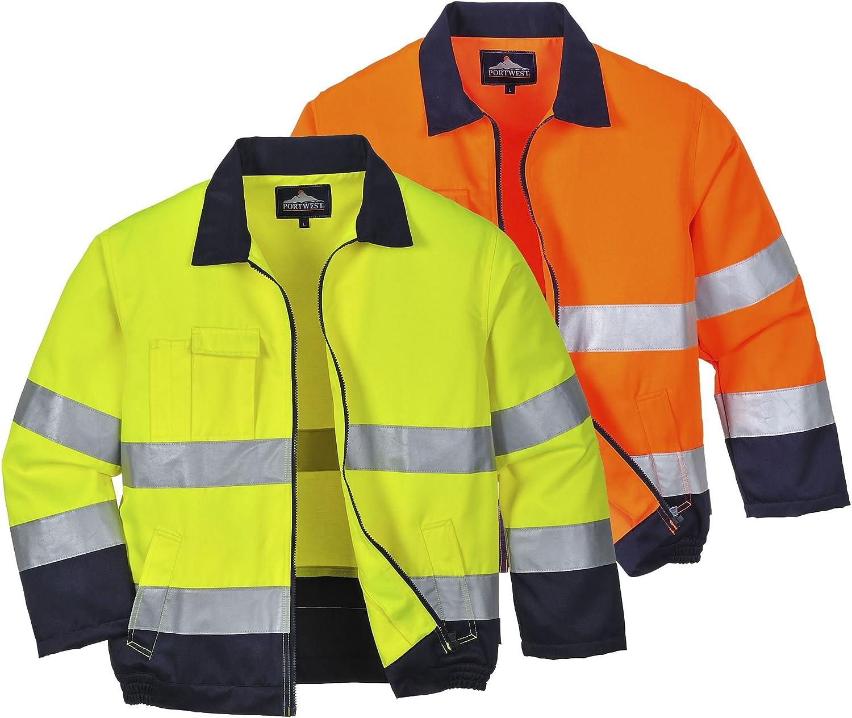 Lyon alta visibilidad chaqueta Portwest TX70 talla 3 XL color