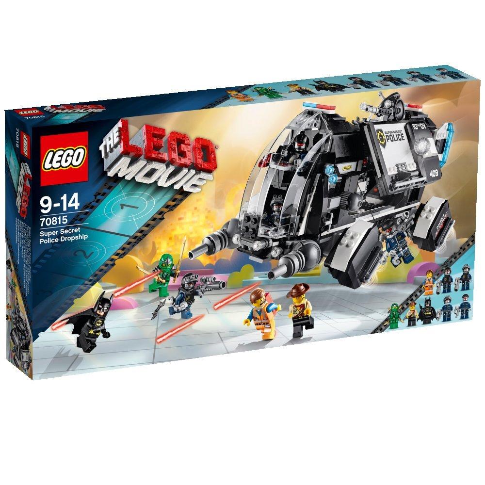 Lego - La nave de la policía supersecreta the movie