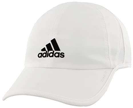 adidas Mens Superlite Relaxed Adjustable Performance Cap, White ...