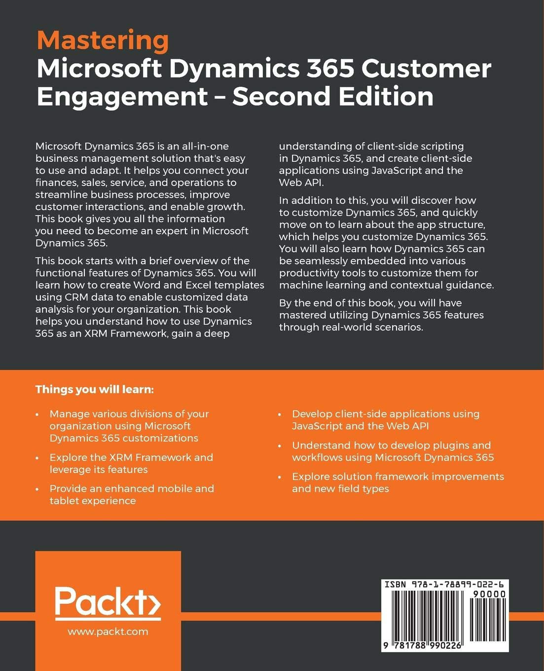 Mastering Microsoft Dynamics 365 Customer Engagement: An advanced