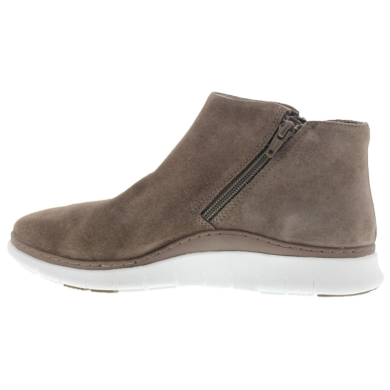 Vionic Womens 352 Dylan Fresh Dark Taupe Suede Boots 38 EU Vionic whnu2k