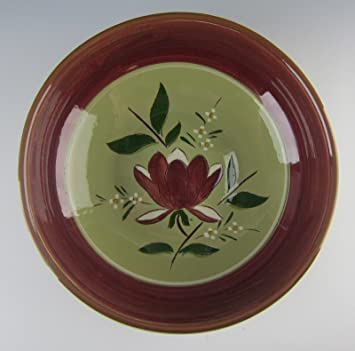 Stangl Pottery MAGNOLIA 9u0026quot; Round Vegetable Bowl EXCELLENT & Amazon.com | Stangl Pottery MAGNOLIA 9