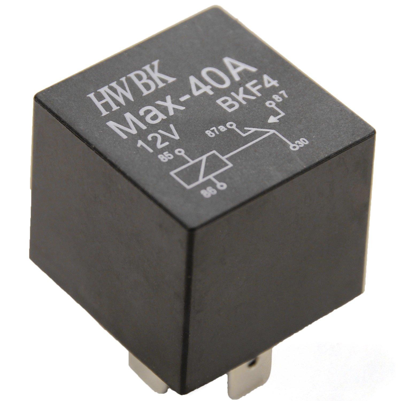 1 Stück Wechsel Relais JD1914 BKF4 12V 40A 5 polig umschalt PKW 30 ...