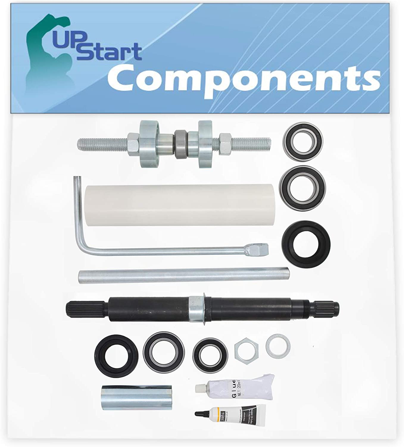 W10447783 Washer Tub Bearing Installation Tool & W10435302 Tub Seal and Bearing Kit Replacement for Maytag MTW6700TQ1 Washing Machine - Compatible with W10447783 Tool Kit & W10435302 Bearing Kit