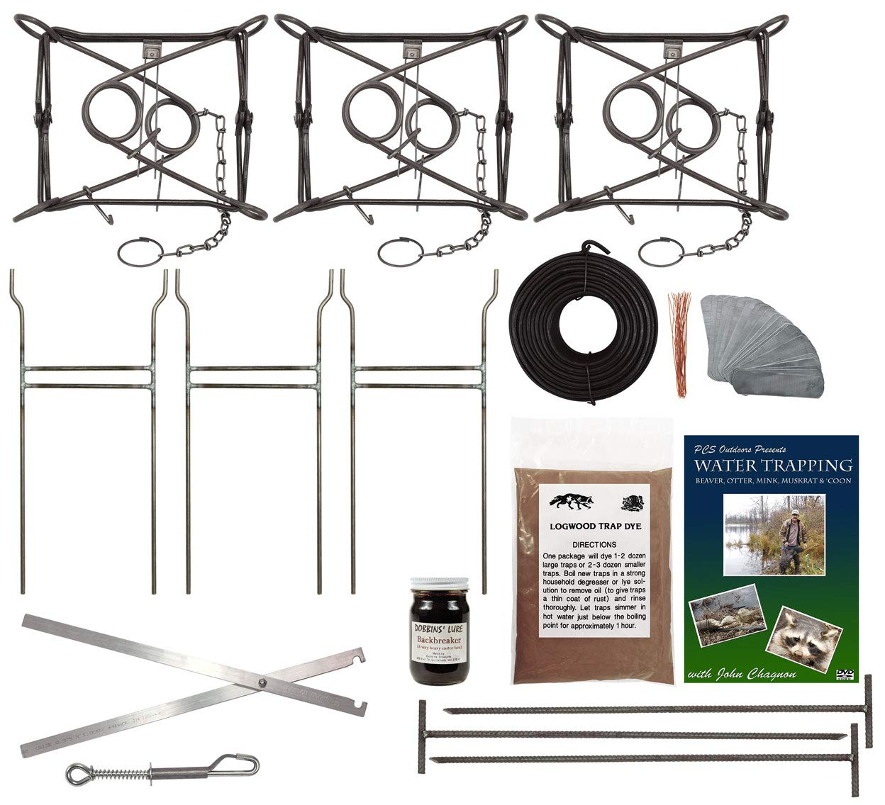 PcsOutdoors Basic Beaver Trapping Starter Kit by PcsOutdoors