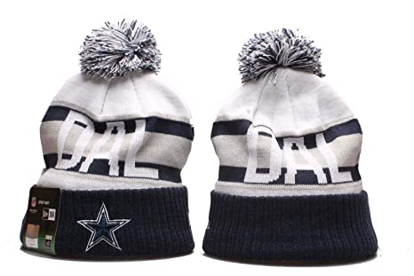 65f5bb808 Amazon.com   New Era Knit Cap Winter NFL Sport Knit Hat(Dallas ...