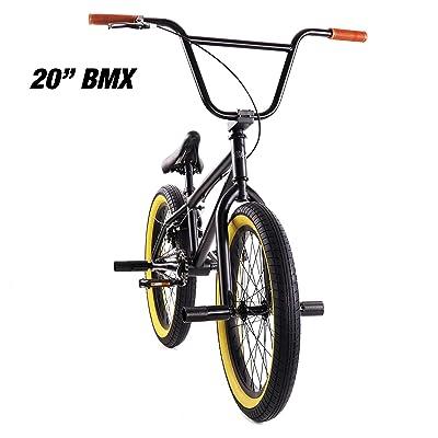 "Elite 20"" & 16"" BMX Bicycle The Stealth Freestyle Bike"