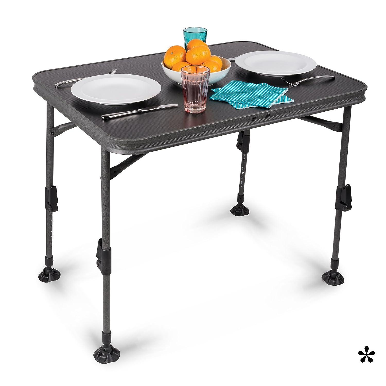 Siehe Beschreibung Aluminium Klapptisch mit Wasserdichter Tischplatte 60x80cm • Campingtisch Gartentisch Koffertisch Falttisch Tisch Bierzelttisch