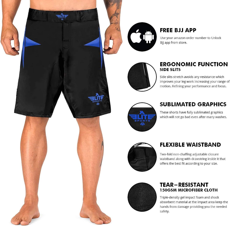 Blue MMA Gear GI MMA Training Shorts