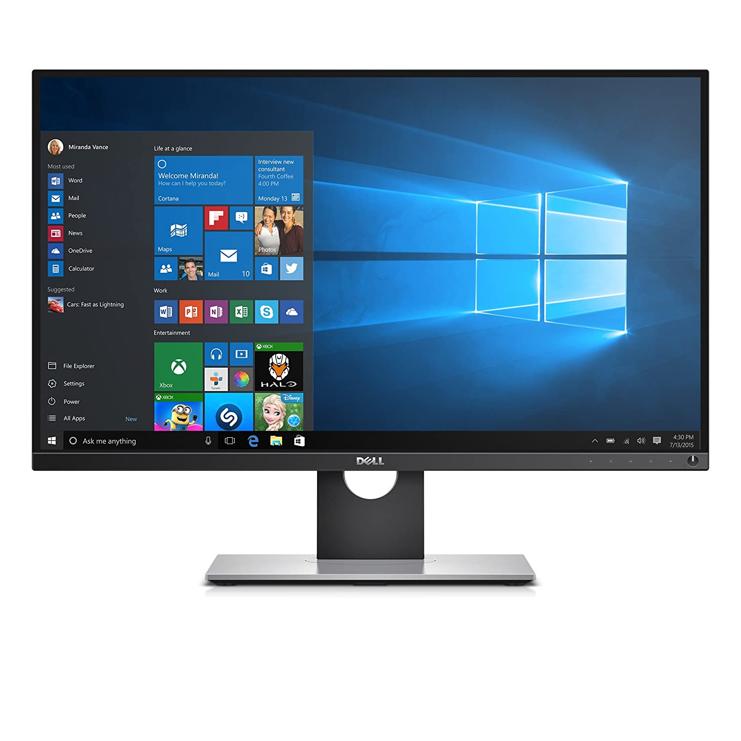 amazon com dell up2716d 27 screen led lit monitor computers