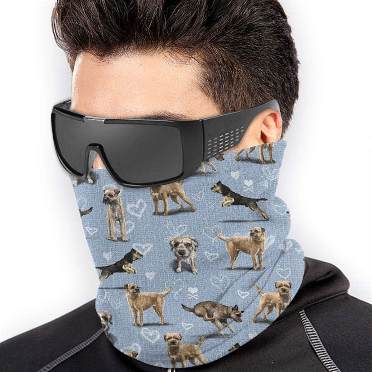 Neck Warmer,Face Mask,Helmet Liner Hatliner Solve Grocery The Border Terrier Headband Bandanas for Men,Women