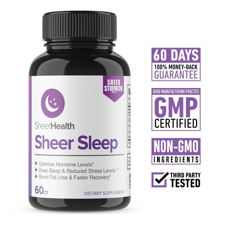 Amazon com: Strength Natural Sleep Aid Formula for Adults