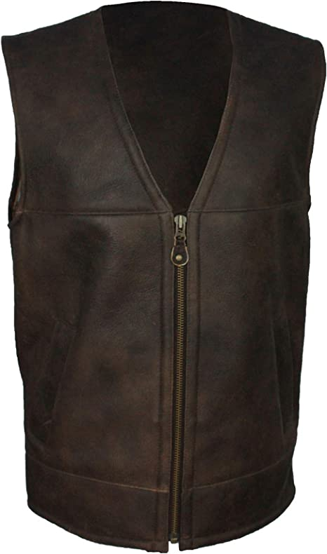 Eastern Counties Leather Mens Giles Sheepskin Gilet At Amazon Men S Clothing Store