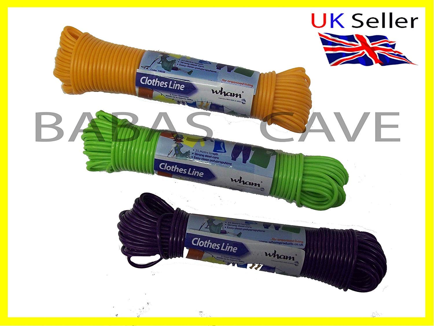 Home & Garden Other Home Cleaning Supplies Useful Washing Line 25 Metres