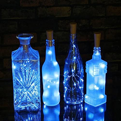 JOJOO Set Of 6 Warm White Wine Bottle Cork LED Lights