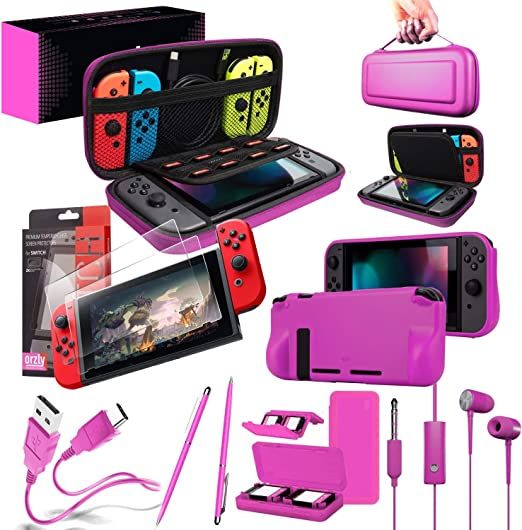 Orzly Ultimate Pack Accesorios para Nintendo Switch [Incluye ...